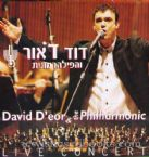 DAVID D'OR And The Philharmonic: Live In Concert (CD)